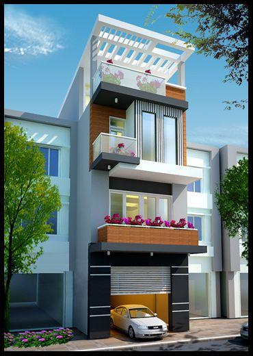 Thiết kế nhà phố rộng 5m (hình 3)