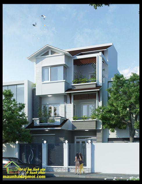 Thiết kế nhà phố rộng 7m (hình 3)