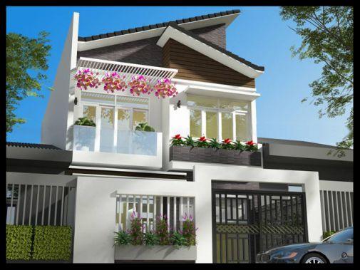 Thiết kế nhà phố rộng 8m (hình 3)