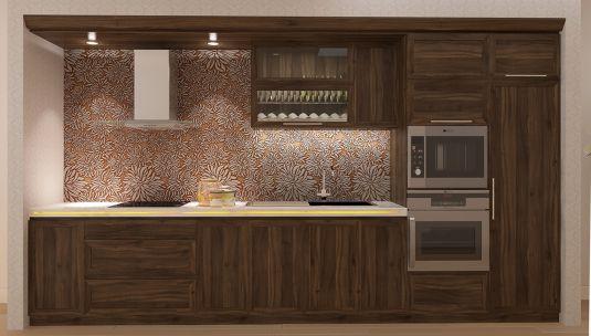 Mẫu Nhà Bếp Đẹp Với Nội Thất Bằng Gỗ Hình Số 12
