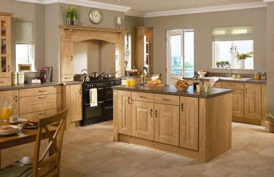 Mẫu Nhà Bếp Đẹp Với Nội Thất Bằng Gỗ Hình Số 3
