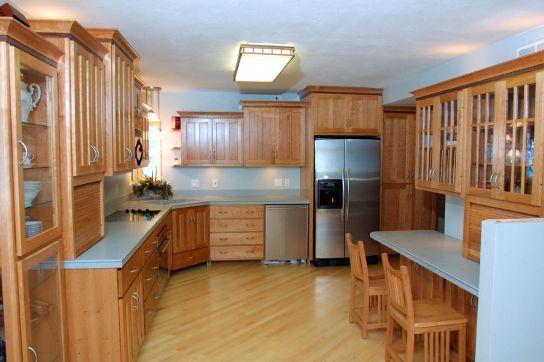 Mẫu Nhà Bếp Đẹp Với Nội Thất Bằng Gỗ Hình Số 1