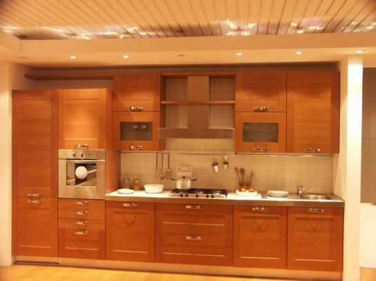 Mẫu Nhà Bếp Đẹp Với Nội Thất Bằng Gỗ Hình Số 11