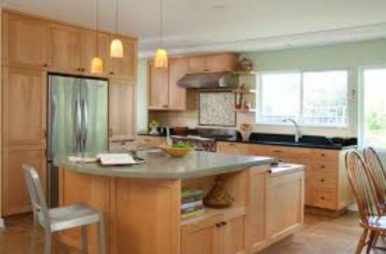 Mẫu Nhà Bếp Đẹp Với Nội Thất Bằng Gỗ Hình Số 10