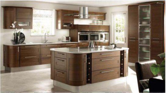 Mẫu Nhà Bếp Đẹp Với Nội Thất Bằng Gỗ Hình Số 7