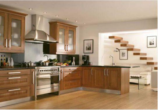 Mẫu Nhà Bếp Đẹp Với Nội Thất Bằng Gỗ Hình Số 6