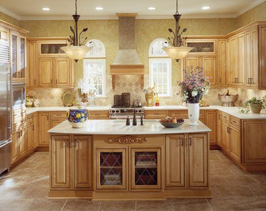 Mẫu Nhà Bếp Đẹp Với Nội Thất Bằng Gỗ Hình Số 4