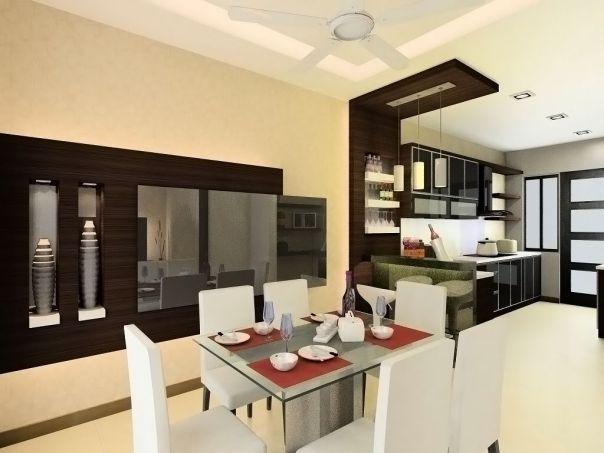 Mẫu trần thạch cao đẹp cho Phòng Bếp -> Hình 3