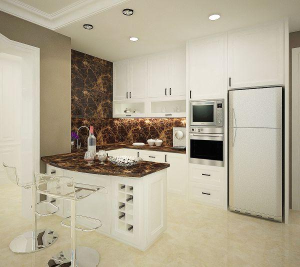 Mẫu trần thạch cao đẹp cho Phòng Bếp -> Hình 4