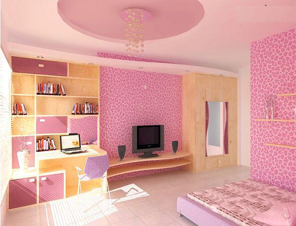 Trần thạch cao phòng ngủ bé gái -> Mẫu 5