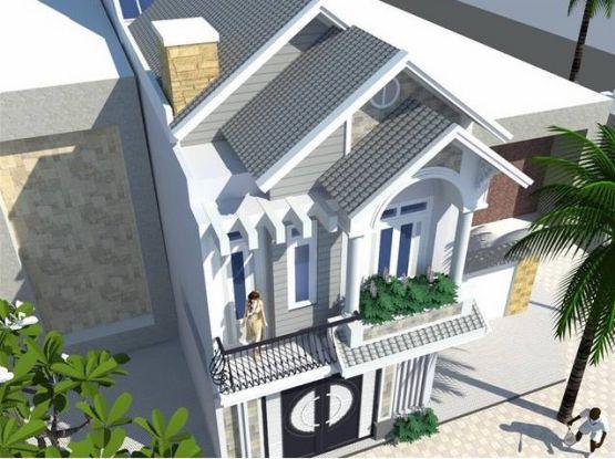 Tư vấn thiết kế nhà phố 2 tầng đẹp.