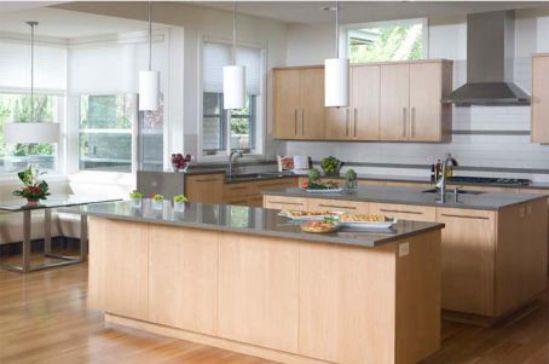 Nội thất nhà bếp với đường nét tinh tế - Mẫu 1