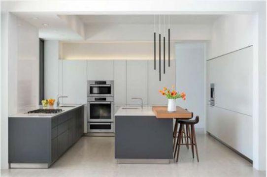 Nội thất nhà bếp với đường nét tinh tế - Mẫu 2