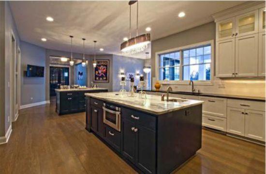 Nội thất nhà bếp với đường nét tinh tế - Mẫu 3