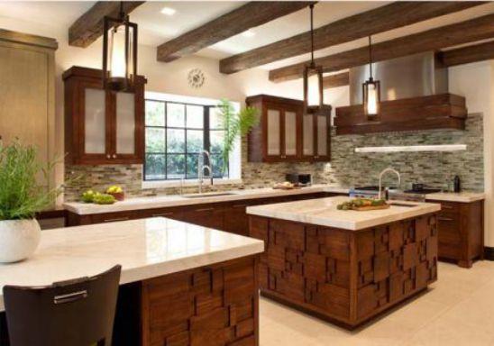 Nội thất nhà bếp với đường nét tinh tế - Mẫu 4