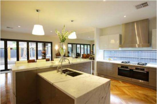 Nội thất nhà bếp với đường nét tinh tế - Mẫu 5