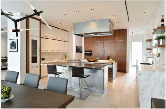 Nội thất nhà bếp với đường nét tinh tế - Mẫu 6
