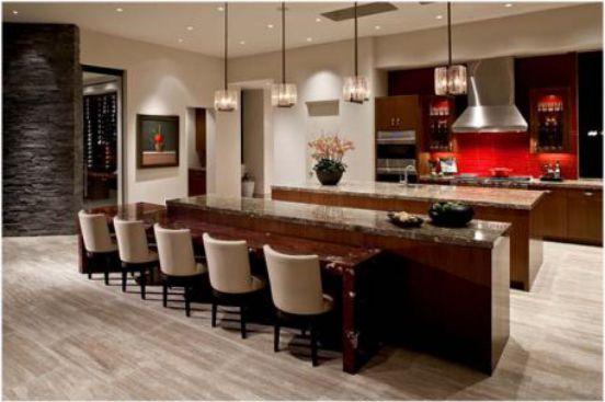 Nội thất nhà bếp với đường nét tinh tế - Mẫu 7
