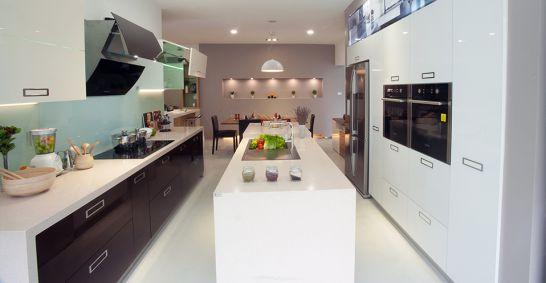 Nội thất nhà bếp với đường nét tinh tế - Mẫu 8