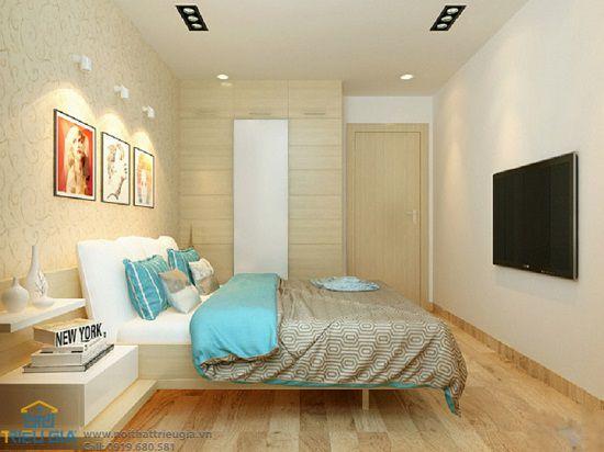 Màu sắc của phòng ngủ thường là tùy thuộc vào tính cách của người dùng, lớn tuổi hay trẻ tuổi, cá tính hay trầm ấm...