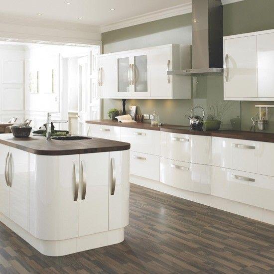 Mẫu Tủ Bếp Đẹp Với Màu Trắng Tao Nhã - Hình 15