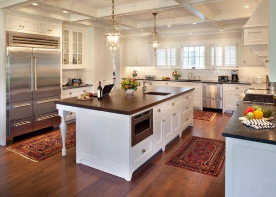 Mẫu Tủ Bếp Đẹp Với Màu Trắng Tao Nhã - Hình 6