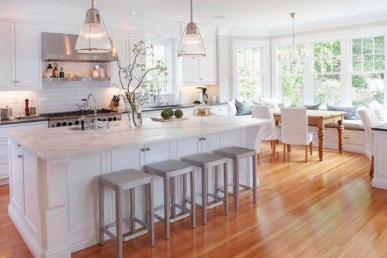 Mẫu Tủ Bếp Đẹp Với Màu Trắng Tao Nhã - Hình 5