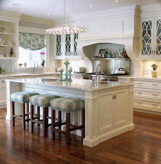 Mẫu Tủ Bếp Đẹp Với Màu Trắng Tao Nhã - Hình 3