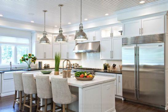 Mẫu Tủ Bếp Đẹp Với Màu Trắng Tao Nhã - Hình 13