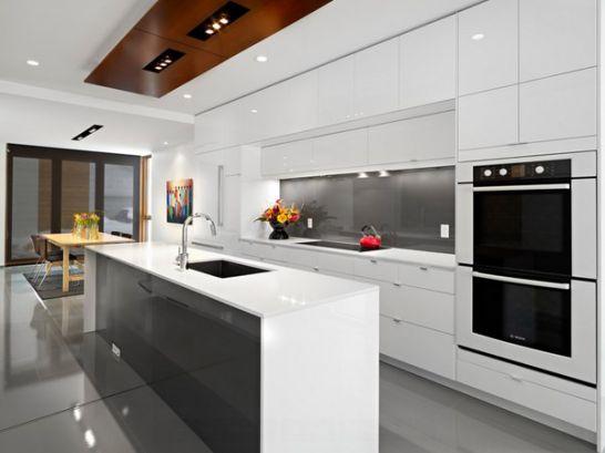 Mẫu Tủ Bếp Đẹp Với Màu Trắng Tao Nhã - Hình 12