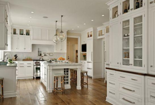 Mẫu Tủ Bếp Đẹp Với Màu Trắng Tao Nhã - Hình 10
