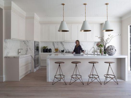 Mẫu Tủ Bếp Đẹp Với Màu Trắng Tao Nhã - Hình 9