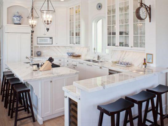 Mẫu Tủ Bếp Đẹp Với Màu Trắng Tao Nhã - Hình 8