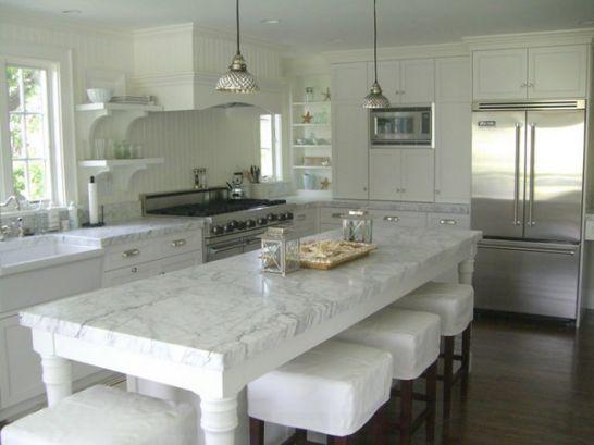 Mẫu Tủ Bếp Đẹp Với Màu Trắng Tao Nhã - Hình 7