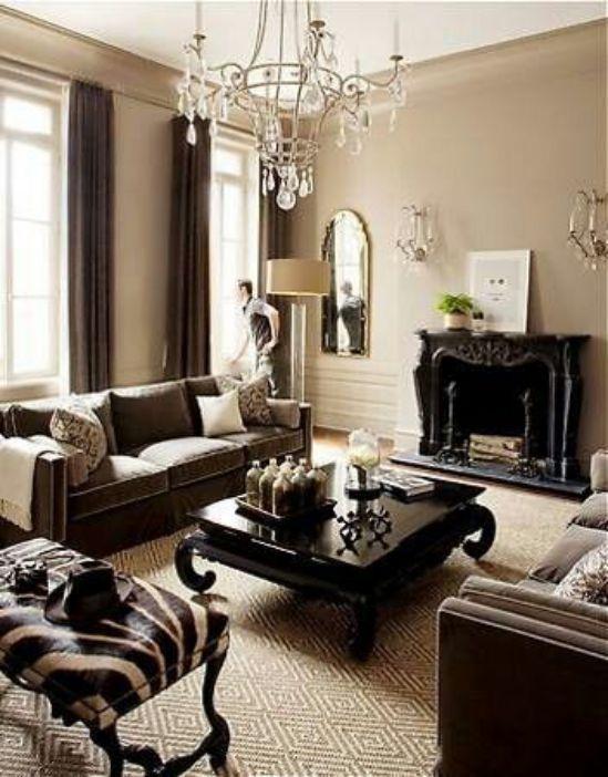 Mẫu thiết kế phòng khách đẹp với kiến trúc tân cổ điển - Phối cảnh 4