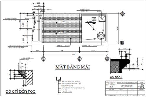 Bản vẽ thiết kế nhà phố 2 tầng đẹp chi phí xây dựng tầm 500 triệu