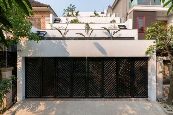 Thiết kế sáng tạo với mẫu nhà phố đẹp diện tích 8x20m