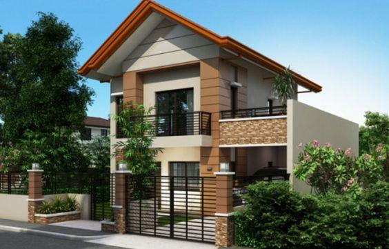 Thiết kế nhà 2 tầng diện tích 8x8m đơn giản đầy đủ công năng