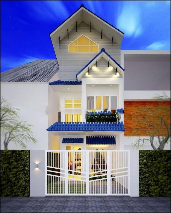Mẫu nhà phố 3 tầng 70m2 đa dạng về phong cách Kiến Trúc