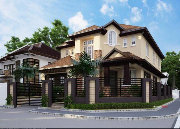 Ngắm nhìn mẫu nhà 2 tầng 2 mặt tiền đẹp khiến nhiều gia chủ xiêu lòng