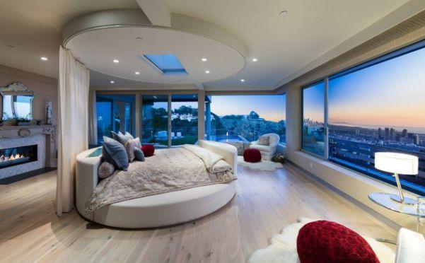 Top 10 thiết kế phòng ngủ đẹp sang trọng với giường tròn hot nhất 2019