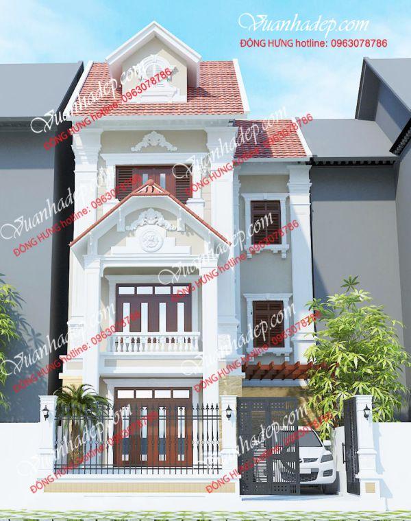 Mẫu nhà phố 7x10m gây ấn tượng mạnh từ vẽ đẹp bên ngoài