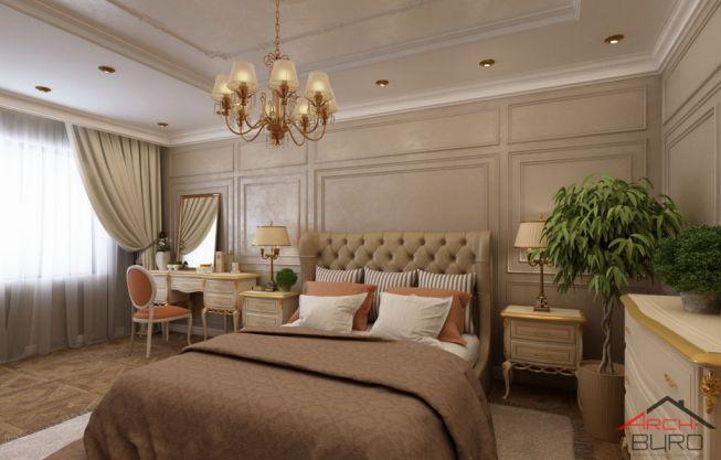 Mẫu phòng ngủ cổ điển Châu Âu – Tạp chí không gian đẹp 2019
