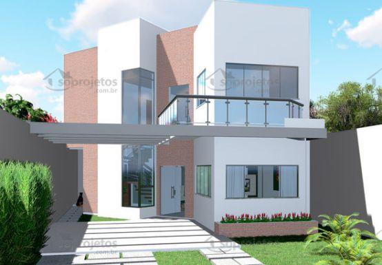 Thiết kế biệt thự 2 tầng hiện đại trên lô đất 10x19m công năng độc đáo
