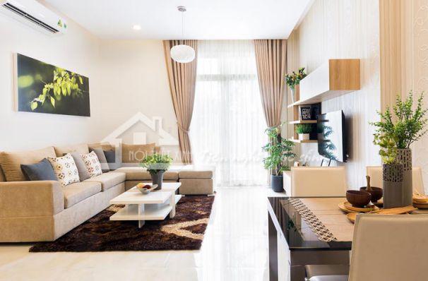 Cách trang trí phòng khách nhỏ đẹp 2019 mà bạn nên biết cach trang tri phong khach nho dep 01 min