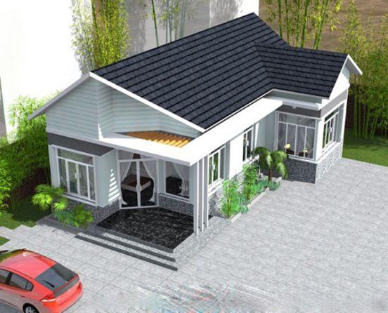 Top 10 mẫu nhà cấp 4 mái thái 300 triệu tiết kiệm 50% chi phí