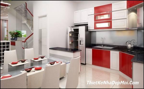 Mẫu phòng bếp đẹp hiện đaii
