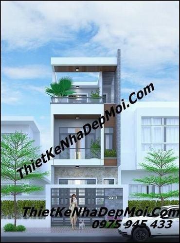 Nhà 1 trệt 1 lầu 1 sân thượng mặt tiền 5m chị Đào Vũng Tàu