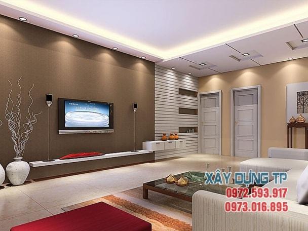 thiết kế trần thạch cao phòng khách hiện đại 2018 mà bạn nên xem Thiết kế trần thạch cao phòng khách hiện đại 2018 mà bạn nên xem tran thach cao phong khach 10 min