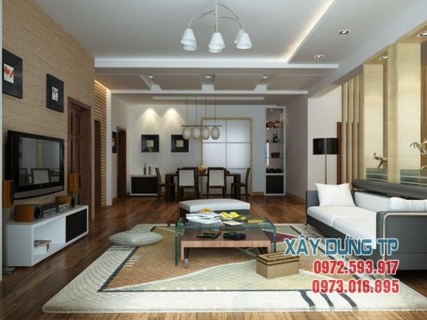Thiết kế trần thạch cao phòng khách hiện đại 2019 mà bạn nên xem tran thach cao phong khach 2 min